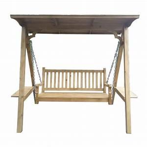 Chaise Bois Exterieur : balan oire en bois chaise enfant chaise bois jardin ext rieur rocking chair pour deux adultes ~ Teatrodelosmanantiales.com Idées de Décoration