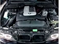 BMW m57 damage engine mount YouTube