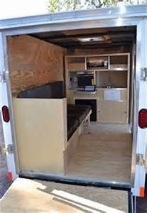image result for cargo trailer conversion floor plans 5x8 With what kind of paint to use on kitchen cabinets for jeep car stickers