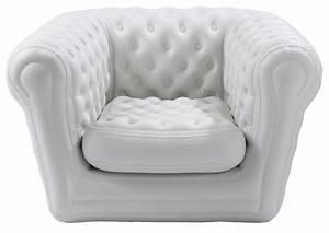 Mobilier Gonflable Exterieur : fauteuil gonflable big blo 1 blanc blofield ~ Premium-room.com Idées de Décoration