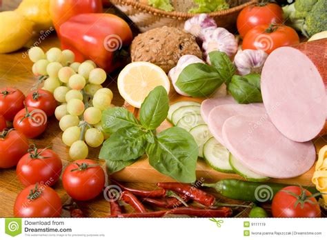 composition cuisine composition of food royalty free stock images image 9111119