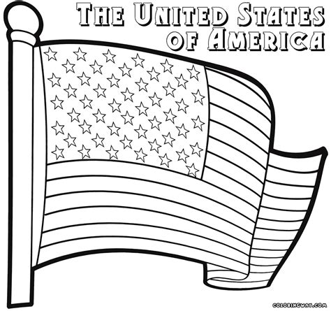 flags coloring pages flag coloring pages