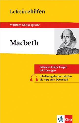 no fear shakespeare macbeth odnera