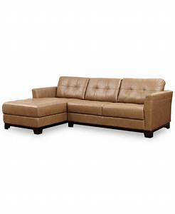 Martino leather chaise sectional sofa 2 piece apartment for Martino leather 2 piece sectional sofa