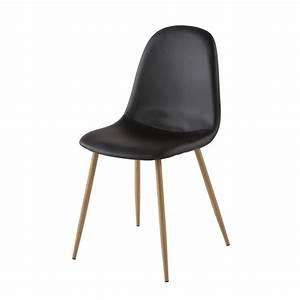 Chaises Scandinaves Noires : chaise scandinave noire clyde maisons du monde ~ Teatrodelosmanantiales.com Idées de Décoration