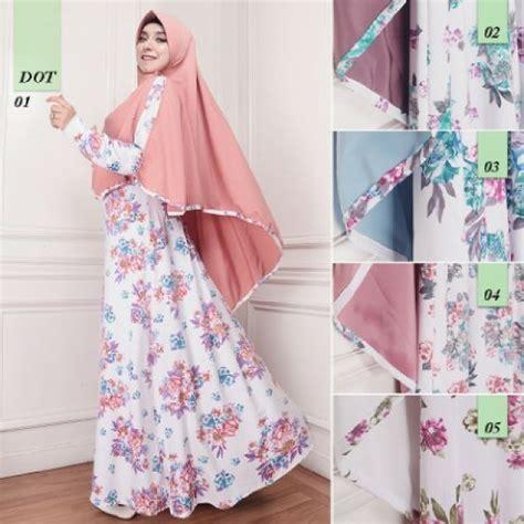 Butik Baju Gamis Syari Murah Model Terkini 2018 Di