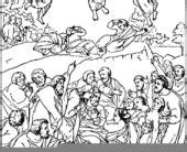 Coloring Pages The Catholic Toolbox Gospel For Mass