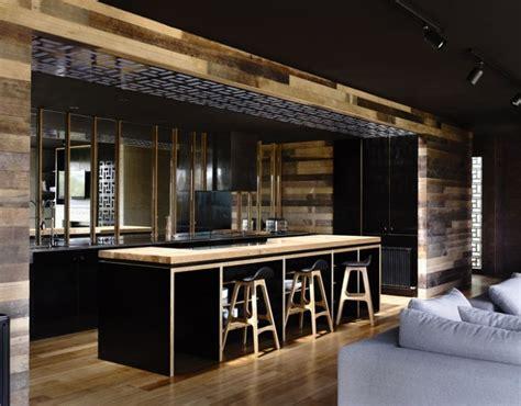99 idu00e9es de cuisine moderne ou00f9 le bois est u00e0 la mode