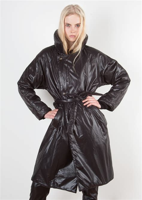 marios quilted nylon coat fancycom