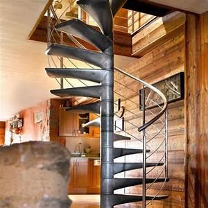 Escalier Colimaçon Beton : mat riaux d escalier ooreka ~ Melissatoandfro.com Idées de Décoration