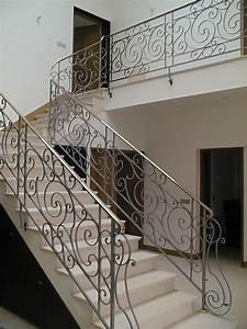 Garde Corps Escalier Fer Forgé : garde corps escaliers ste ma inox ma inox inox fer forg aluminium part 2 stairs ~ Nature-et-papiers.com Idées de Décoration