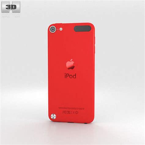 Apple iPod Touch Red 3D Model .max .obj .3ds .fbx .c4d