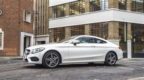 Mercedes C Class Coupe Hd Picture by 2017 Mercedes C Class Coupe Uk Spec Side Hd