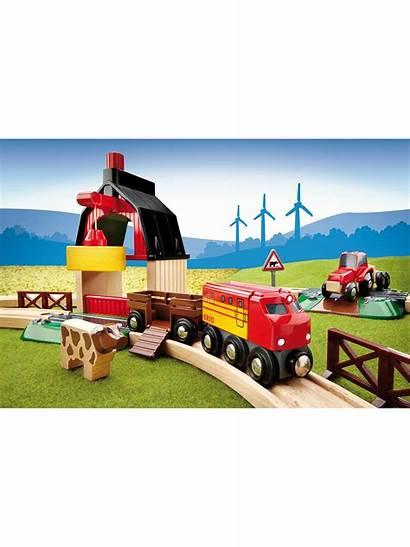Brio Railway Farm Johnlewis Lewis John