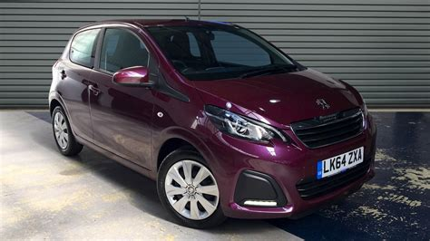used peugeot 108 automatic used peugeot 108 hatchback 1 0 active 5dr 2015 lk64zxa