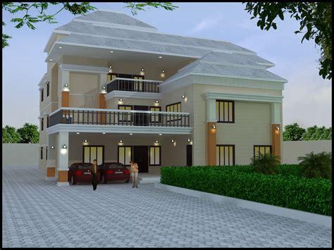 idea design ideas decoration home triplex house