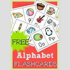 Abc Flashcards! They're Free!  What's Hot On Blessed Beyond A Doubt  Preschool, Abc
