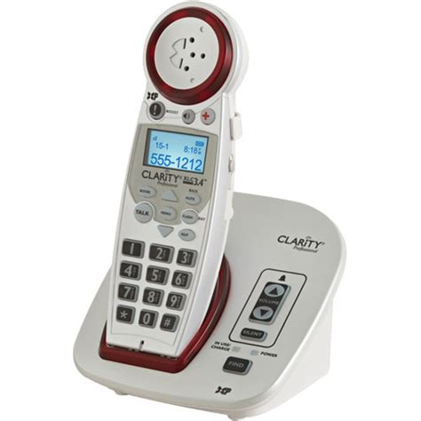 phones for hearing impaired walmart clarity xlc3 5hs handset for xlc3 4 phone system walmart