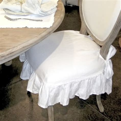 pompom chair seat cover ruffled shabby that