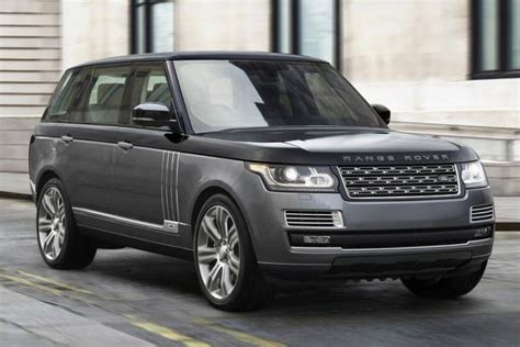 Land Rover Unveils The Most Expensive Suv Ever Made