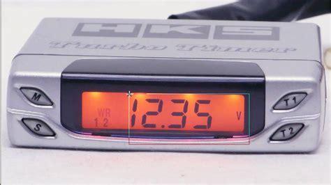 turbo timer hks by vauto hks turbo timer type 1