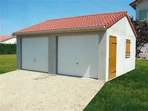 Construire un garage en parpaing elvation de pignon for Awesome faire un plan maison 4 prix dun garage en parpaings co251t de construction