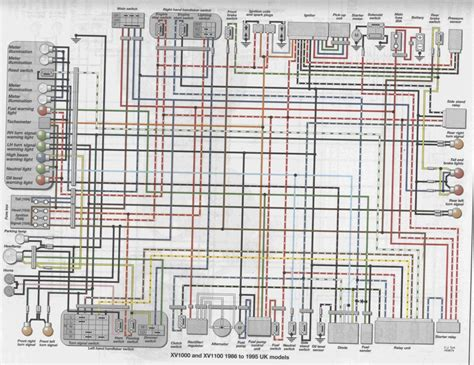 1986 Yamaha Xs1100 Wiring Diagram by Viragotechforum View Topic Electrical Components