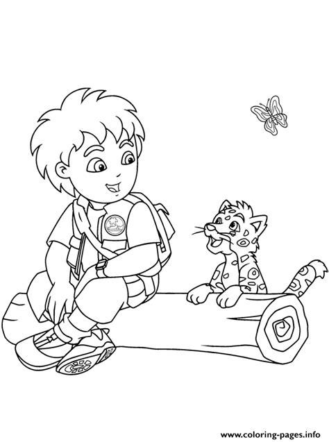 diego  jaguar seef coloring pages printable