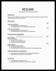 student resume examples first job best resume collection With resume styles and templates