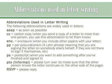 formal  informal letter writing