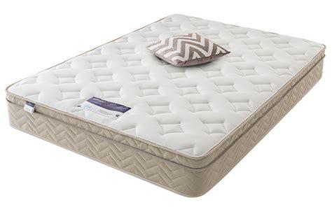 silentnight oslo miracoil memory cushion top mattress