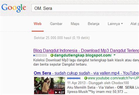 Om Sera Kalahkan Popularitas Slank Di Google