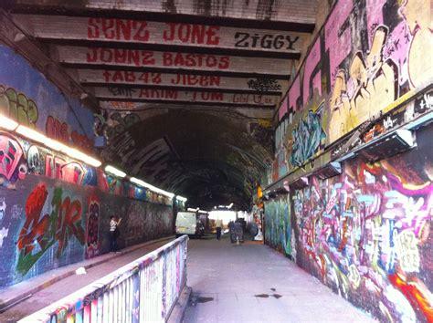 Banksy Tunnel, Waterloo Station, London | Street art ...
