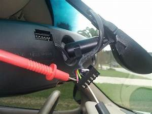 Rear View Mirror Wire Harness  Electrical Help