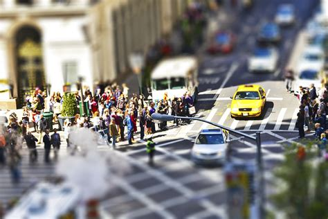 leffet tilt shift maquette ou miniature guimbi production