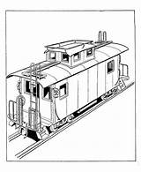 Train Coloring Caboose Trains Toy Pages Drawing Steam Railroad Drawings Colouring Southern Freight Pacific Engine Blueprints Tracks Fun Teach History sketch template