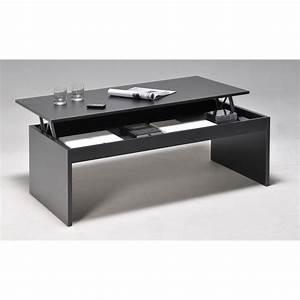 table basse rectangulaire en bois l120cm avec plateau With table de salon transformable en table de salle a manger pour petite cuisine Équipée