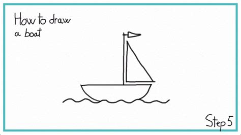 Cartoon Boat Easy To Draw by How To Draw A Boat In 7 Steps Easy Youtube
