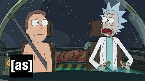 sneak peek it s a rick and jerry adventure rick and morty swim