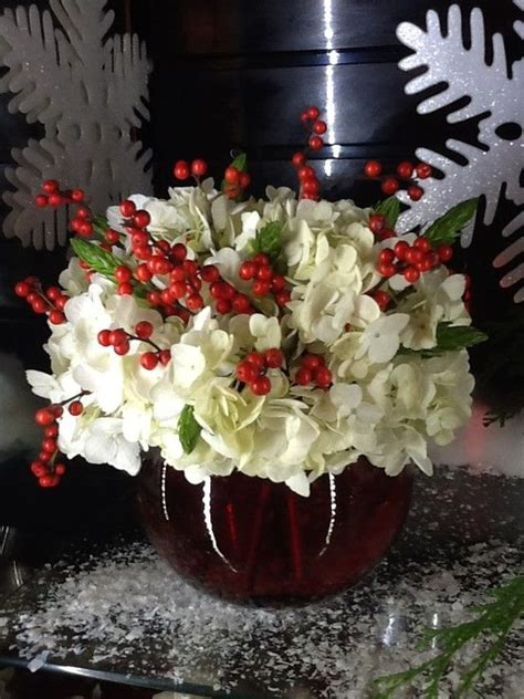 christmas flowers christmas flower arrangements and red