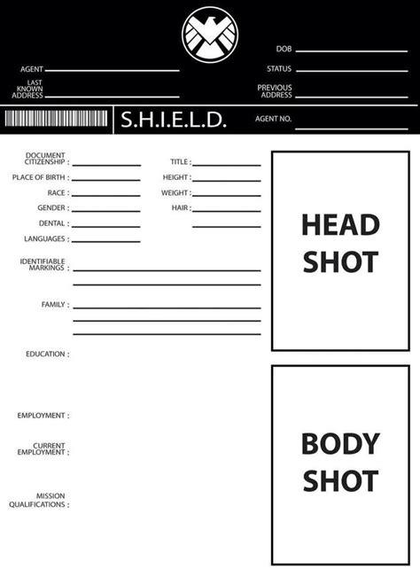 shield personnel files images  pinterest