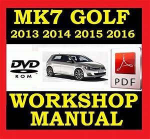 Vw Volkswagen Golf Mk7 Vii Workshop Service Repair
