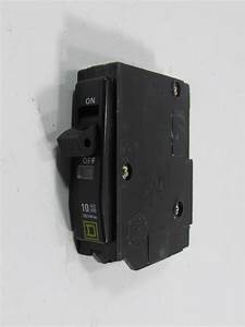 Square D Circuit Breaker 120  240 Vac 10 000 Amps