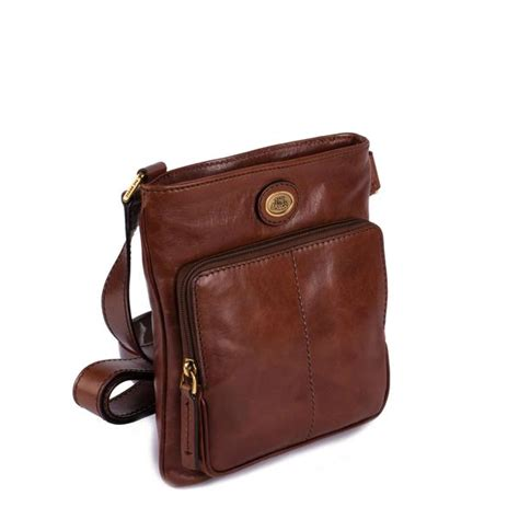 the bridge bags leather shoulder bag at douglas attire