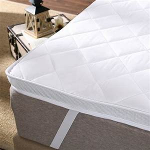 100 polyester hard cotton filling mattress topper With best topper for hard mattress