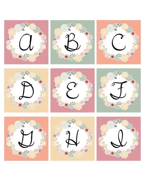 printable monogram ideas  pinterest