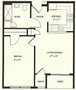 1 bedroom house plans 1 bedroom floor plans 1 bedroom for One bedroom houses floor plans