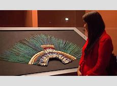 The rarest of Aztec Feather Headdresses The Feather Girl