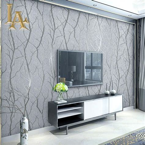 fashion abstract thick flocked striped wallpaper  walls