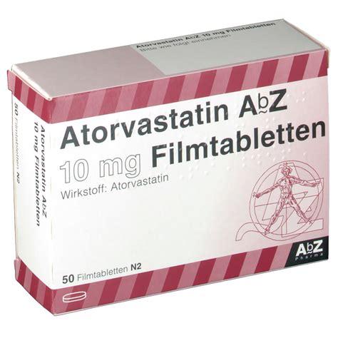 atorvastatin abz  mg filmtabletten shop apothekecom
